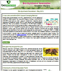 Bio-Synthesis Newsletter - May 2016
