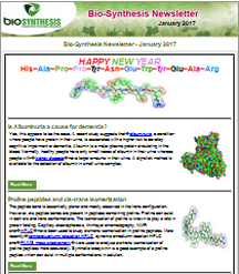 Bio-Synthesis Newsletter - jan 2017